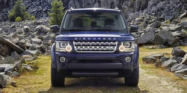 Facelift für den Land Rover Discovery