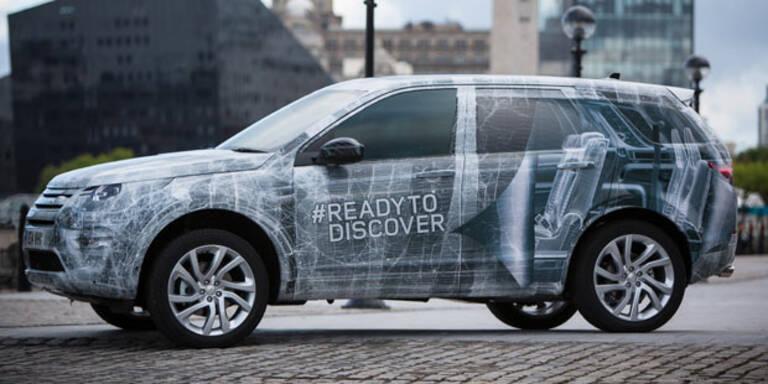 Land Rover bringt den Discovery Sport