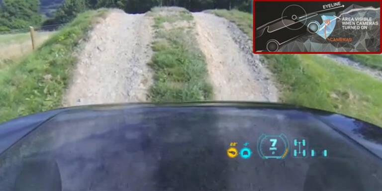 Land Rover bringt unsichtbare Motorhaube