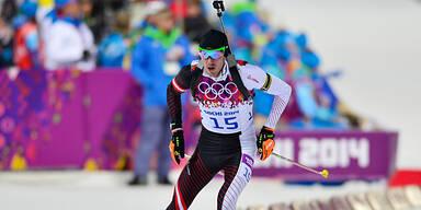 Biathlon: 2 Österreich unter Top 10