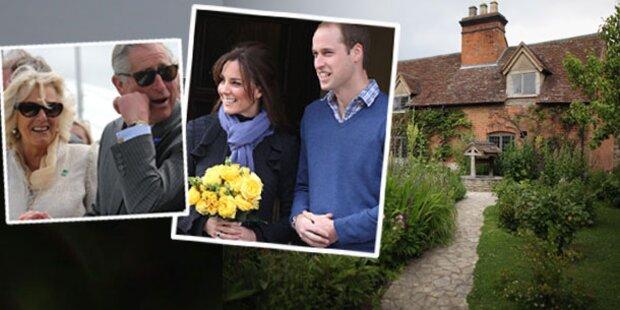 Queen schenkt Will Charles' Liebesnest