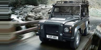 Land Rover Defender Modelljahr 2012