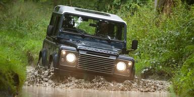 Land Rover Defender geht 2015