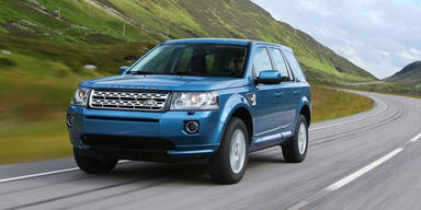 Facelift für den Land Rover Freelander 2