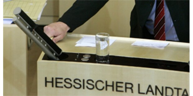 Hessischer Landtag aufgelöst