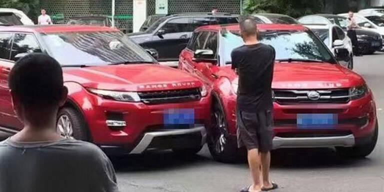 Dreister China-Klon rammt echten Evoque