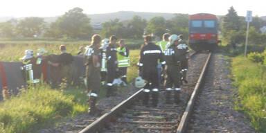 Radfahrer Zug Unfall tot