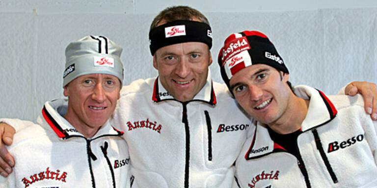 v.l.n.r.: Christian Hoffmann, Michail Botwinow, Martin Tauber; (c) GEPA
