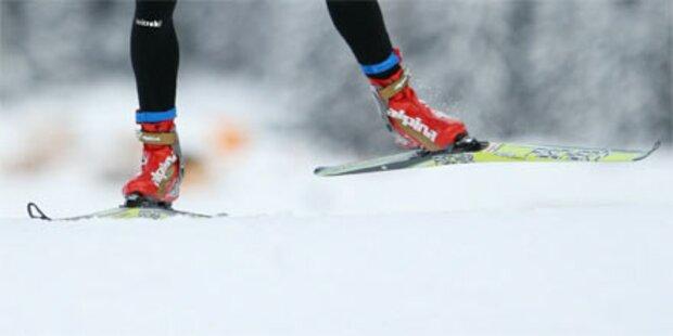 Wegen Schneemassen: Hebamme kam auf Skiern