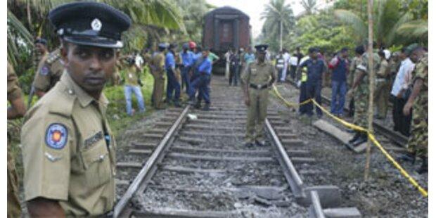17 Verletzte bei Anschlag auf Zug in Sri Lanka