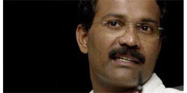 Polit-Führer der Tamilen-Rebellen getötet