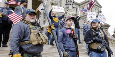 'Befreit Minnesota': Trump heizt bewaffnete Proteste an