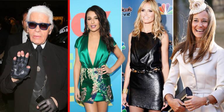 Lagerfeld mag Lea Micheles Look nicht