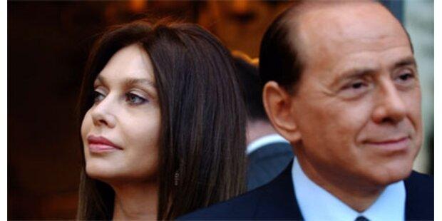 Berlusconi einigt sich mit Noch-Ehefrau