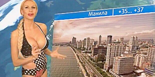 Sie ist Putins schärfste Kritikerin