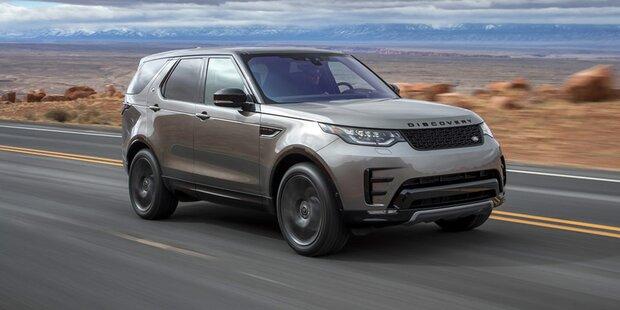 Update für den Land Rover Discovery
