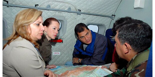 Ecuadors Verteidigungsministerin ist tot