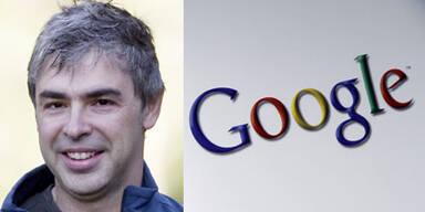 Larry Page wieder an der Google-Spitze