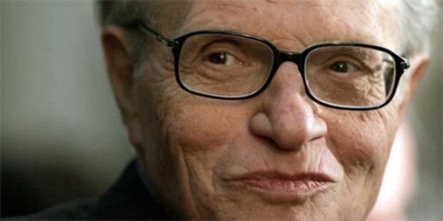 Talk-Legende Larry King verabschiedete sich - 12.850