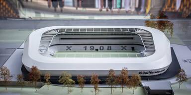 "Neues LASK-Stadion ""Raiffeisen Arena"" in Planung"