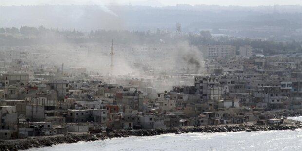 Neue Angriffe auf Hafenstadt Latakia