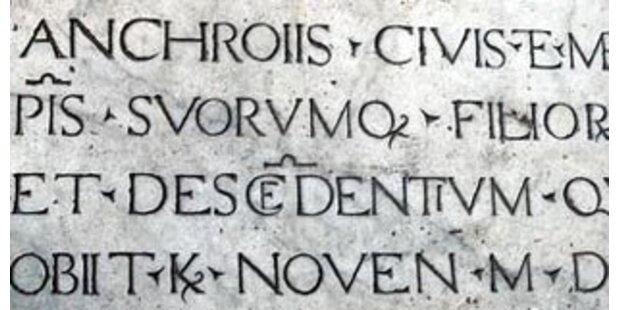 An Tirols Hauptschulen wird Latein gelehrt