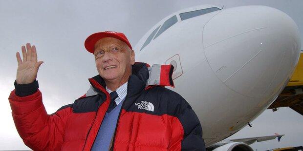 Lauda wollte Airline vor OP verkaufen