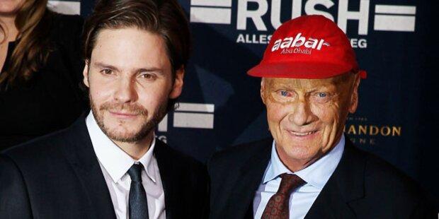 Niki Lauda bei den Golden Globes
