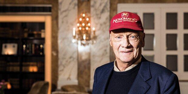 Niki Lauda zeigt seine sensible Seite