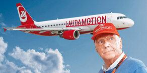 Niki Laudas geheimer Flug-Plan