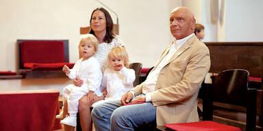 Niki Lauda Taufe Zwillinge