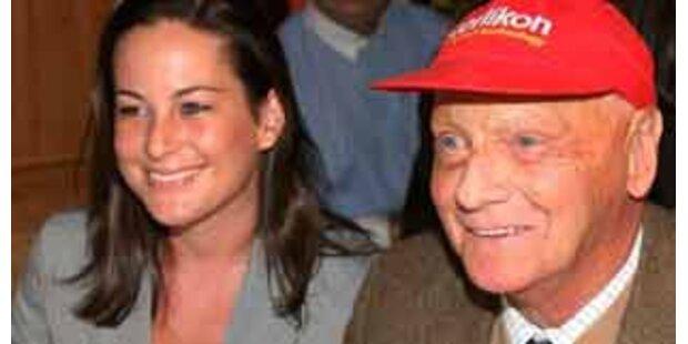 Niki Lauda heiratete Birgit Wetzinger