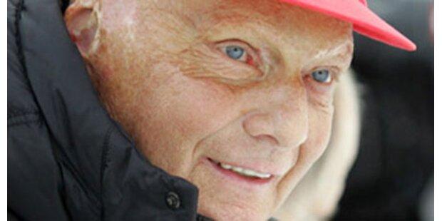 Mit 60 bekommt Lauda noch ein Kind