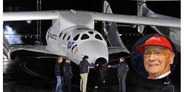Dieses Raumschiff fliegt Lauda ins All