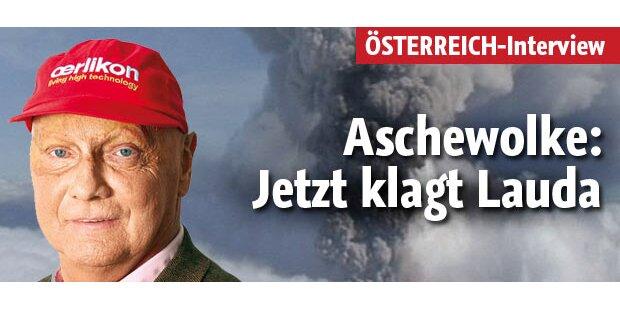 Aschewolke: Jetzt klagt Lauda