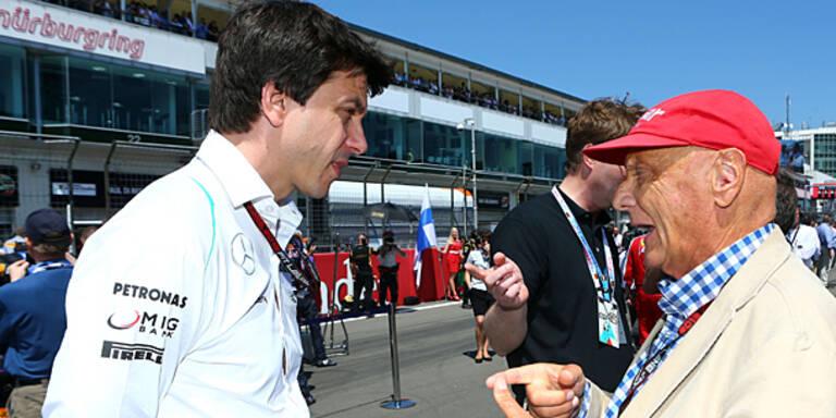 Zu wenig TV-Präsenz: Ärger bei Mercedes