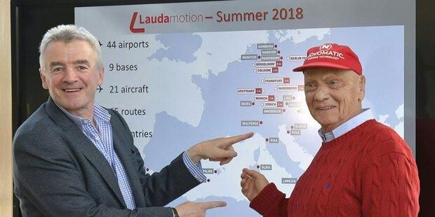 Laudamotion: 41 neue Verbindungen