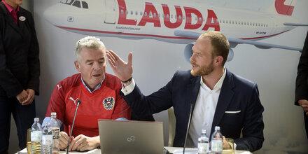 Laudamotion will auf 40 Flugzeuge anwachsen