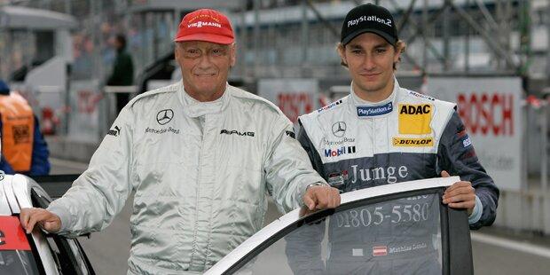 Lauda: Papa Niki in Gedanken mit im Cockpit