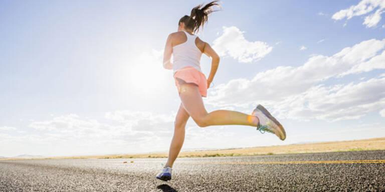 Das machen Frauen beim Laufen oft falsch
