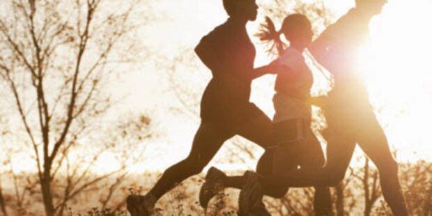 Leichte Bewegung verlängert Leben