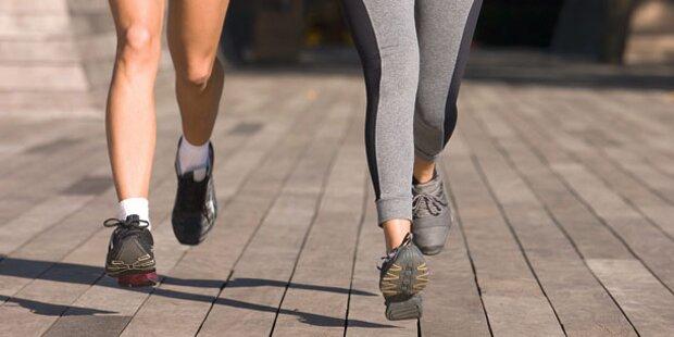 Laufen: Jetzt ist die ideale Jahreszeit
