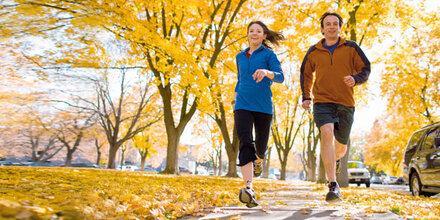 Schon wenig Sport lässt Sie länger leben