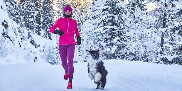 So laufen Sie im Winter richtig