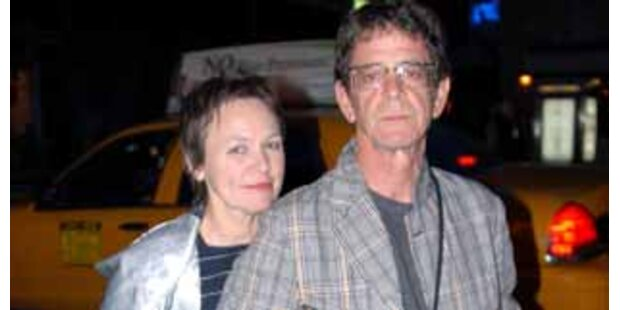 Lou Reed und Laurie Anderson haben geheiratet