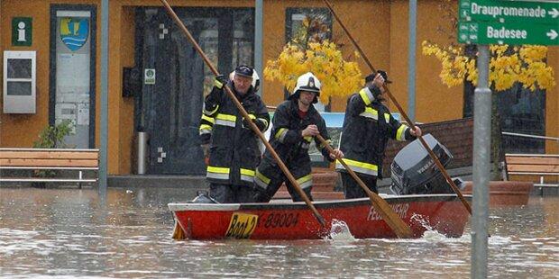 Angst vor neuen Überschwemmungen