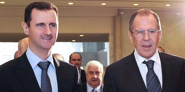 Russland lehnt Syrien-Intervention erneut ab