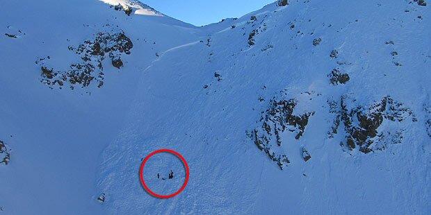 Mann stirbt unter Lawine in Vorarlberg