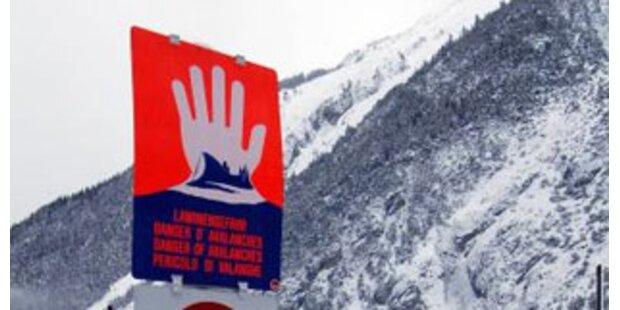 Große Lawinengefahr in NÖ und der Steiermark