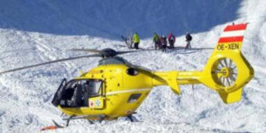 Tiroler überlebte Lawinenabgang trotz 250 m-Fall